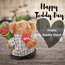 happy teddy day wishes e images