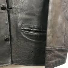 men s vintage er er er jacket genuine leather american base international l 60ec3b