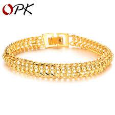 New Latest Gold Bangles Design Us 3 2 Opk Bracelets Bangles 2016 New Design Women Wedding Bracelet Luxury Gold Plate Women Bracelet Fashion Jewelry Ks424 In Wrap Bracelets From