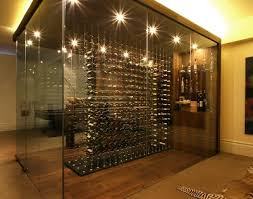 wine room lighting. Glasswineroomwithdividerrack Wine Room Lighting