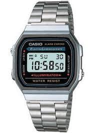<b>Часы Casio A-168WA</b>-<b>1</b> - купить <b>мужские</b> наручные часы в ...