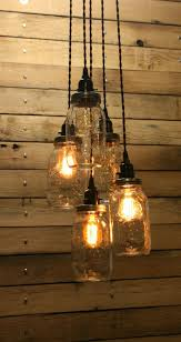 gorgeous mason jar pendant light massagroup co of hanging kit