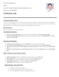 A Good Resume Template Extraordinary Best Resume Format For Teachers Medium Size Of Resume Format In Word