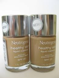 y tuesday neutrogena healthy skin liquid makeup review swatches