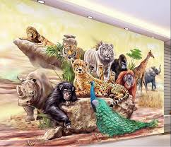 zoo wallpaper. Unique Zoo Custom Photo 3d Wallpaper Nonwoven Mural The Zoo Animals Decoration  Painting Wall Murals Inside Zoo Wallpaper
