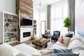 2018 decorating trends family room accent walls
