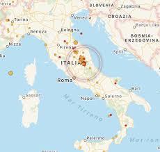 Terremoto Centro Italia: scossa ad Accumoli [MAPPE e DATI ...