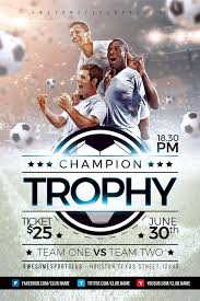 soccer team brochure template champion trophy soccer flyer template download soccer sport flyers