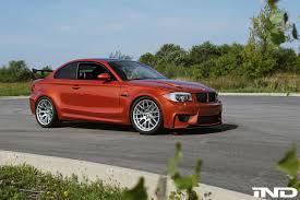 Coupe Series bmw 1 m : Orange BMW 1M Tuned By IND Distribution