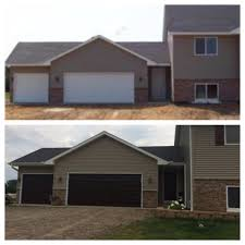 Before And After Garage Doors Gel Stain Homedepot Choose To ...
