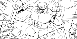 Small Picture AVENGERS 8 Coloring Page Activities Marvel Super Heroes LEGOcom