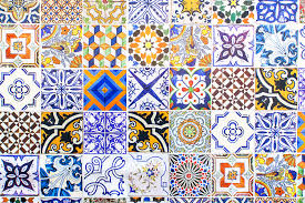 hand painted portuguese ceramic tile photograph by andre goncalves with regard to tiles designs 2