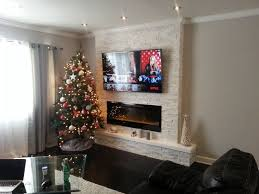 electric fireplace good great or just ok electric fireplace how to make a faux fireplace on the this family took a boring wall and made it into the