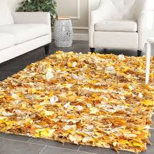 bungalow rose messiah hand tufted gold yellow area rug intended for plan 5