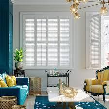 mayfair pure white shutter blinds white blinds living room74 white