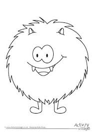 Cute Monster Coloring Pages Monster Colouring Pages Cute Monster