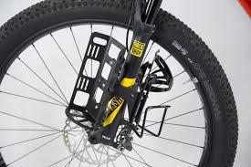 overlander suspension fork bottle cage mount