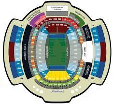 Ralph Wilson Stadium Seating Chart View Buffalo Bills Stadium Map Map 2018