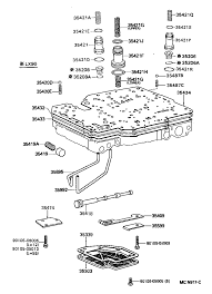 A42d a43d 9210 9509 lx90 sx90 rh toyota afora ru 44re valve body diagram th350 valve body diagram