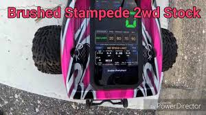 Traxxas Stampede 2wd Brushed Speed Test