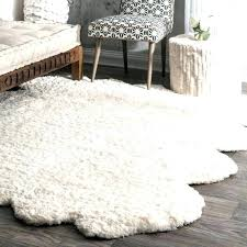 faux fur rug white fur rug brilliant accents sheepskin area rug design gy faux fur