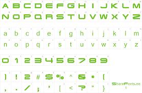 Download Free Font Eyechart Display Caps Ssi