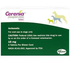 Cerenia Dosing Chart Injection Cerenia Tabs 16 Mg 4 Ct