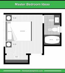 13 Master Bedroom Floor Plans Computer Drawings