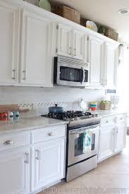 White Kitchen Cabinet Hardware HOUSETWEAKING White Kitchen