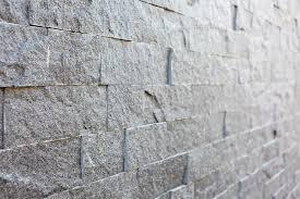 石のレンガ壁