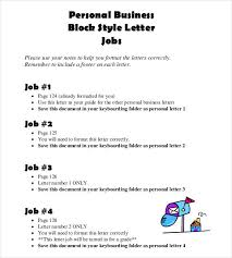 Personal Business Letter Format Personal Business Letter General ...