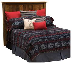 nordic bedspread rustic quilts and