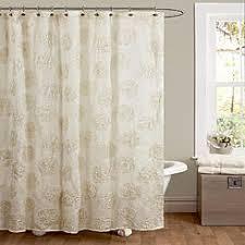 white shower curtains. Lush Decor Samantha Ivory Shower Curtain 72x72 White Shower Curtains