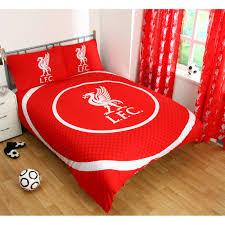 Liverpool Fc Bedroom Wallpaper Single Double Fc Doona Cover Bedding Set Official Bullseye