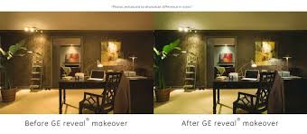 office lighting options. GE-Reveal-Home-Office-Lighting-Before-After-895x390 Office Lighting Options