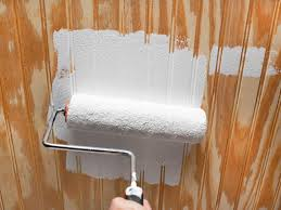 Ideas For Painting Wainscoting How To Update A Ceiling With Wainscoting Hgtv