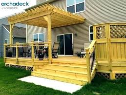 Backyard Decking Designs Inspiration Backyard Wood Deck Backyard Wood Deck Outdoor Decking Tiles