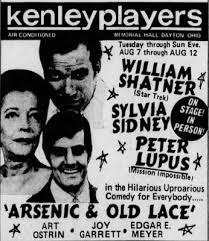 """DrPopCultureBGSU on Twitter: """"We know @RealGilbertACP would be there to see  that production of Arsenic and Old Lace! #popculture #theater… """""""