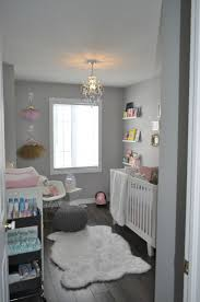 Decor Inspiration: A Pink, Gold, and Grey Nursery for a Baby Girl ...