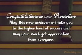 Congrats On Your Promotion Congratulations Wishes Messages For Promotion Of Colleague
