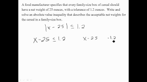 solve an absolute value inequality word problems ex equations and inequalities worksheet answer key form