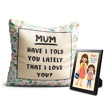 love you cushion photo frame for