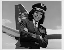 Washington, Patrice Clarke; Airlines, United Parcel Service (UPS) (USA);  Air Cargo; Douglas DC-8; Women in Aviation;B̀lacks in Aviation. digital  image | National Air and Space Museum