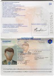 Us Passport Template Psd France Passport Psd Template