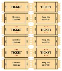 15 Free Raffle Ticket Templates in Microsoft Word - Mail Merge Raffle-Ticket-with-coupon. FEATURED TEMPLATE