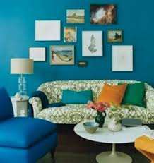 Teal Decorating For Living Room Living Room Teal Decorating Ideas With Wall Arts Interior Color