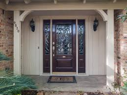 Rustic Front Door with Sidelights : Hang a Pre Hang the Front Door ...
