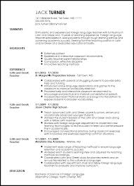 sample resume for teachers word format teacher resume templates free sample  teachers teacher resume templates free