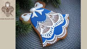 christmas bell sugar cookies. Unique Bell How To Decorate Christmas Cookie Lace Bell Gingerbread Cookie  Decorating With Royal Icing  YouTube And Bell Sugar Cookies C