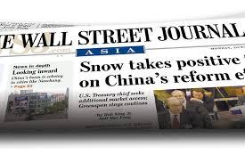 Asian wall street journal subscription